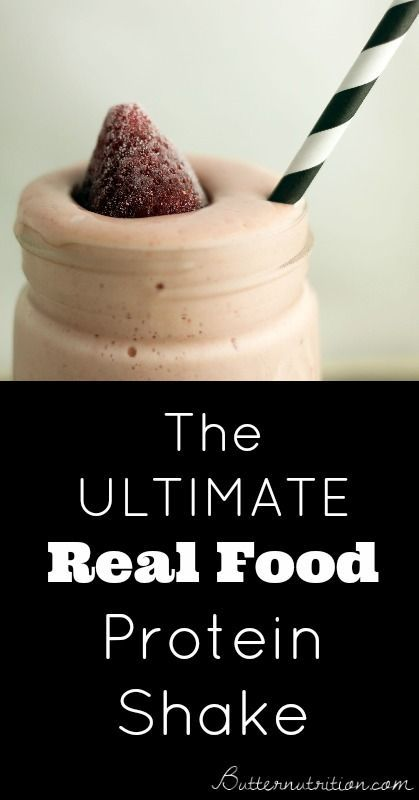 The Ultimate Real Food Protein Shake   Butternutrition.com