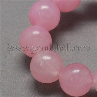 Natural Jade Bead Strands G-R165-10mm-22