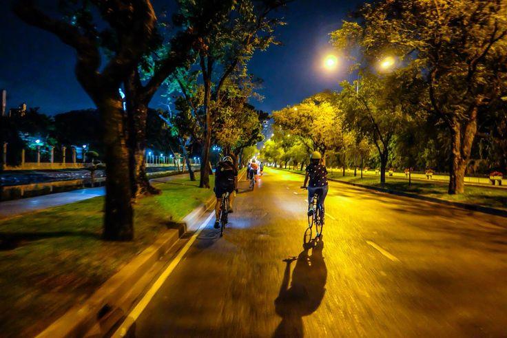 Night ride with NgoBike