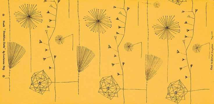 Lucienne Day fabric print, 1953