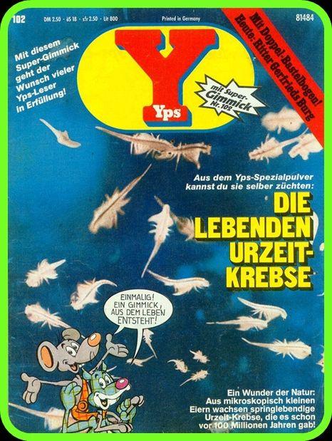YPS-Heft *** ein, zwei Yps-Hefte hatte ich auch mal aus dem Westen ***
