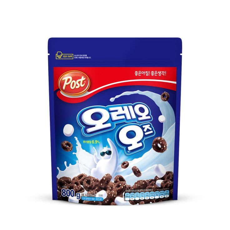 Oreo O's Cereal With Marshmallow 28.2oz (800g) Free Standard Shipping From Korea #OreoOs