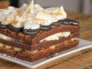 Torta de brownie | 3 Minutos con Santiago Giorgini | FOX Play