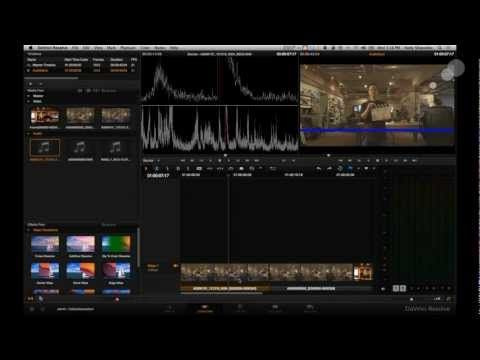 Creating Dailies in Davinci Resolve 9 - Part 1: Syncing Audio