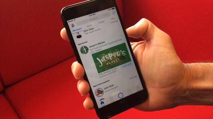 Ab Ende Juli - Facebook zeigt auch Werbung im Messenger