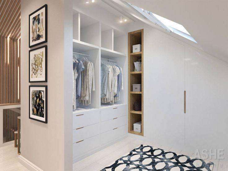 12 armarios modernos ideales para casas peque as armario - Armarios espacios pequenos ...