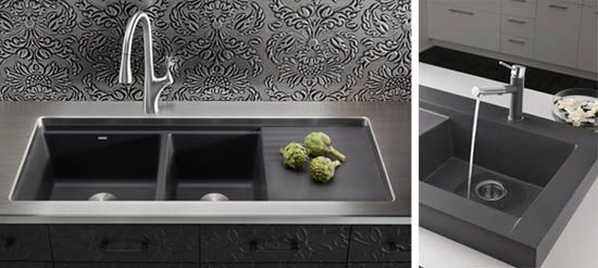 Cinder Blanco Sink : New BLANCO SILGRANIT Sinks - Cinder RENO INSPO Pinterest Home ...
