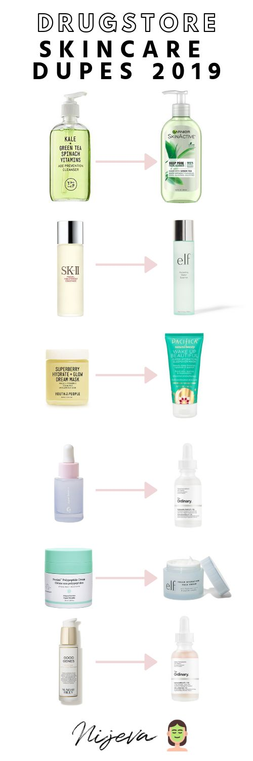 Drugstore Skincare Dupes For Highend Products New …