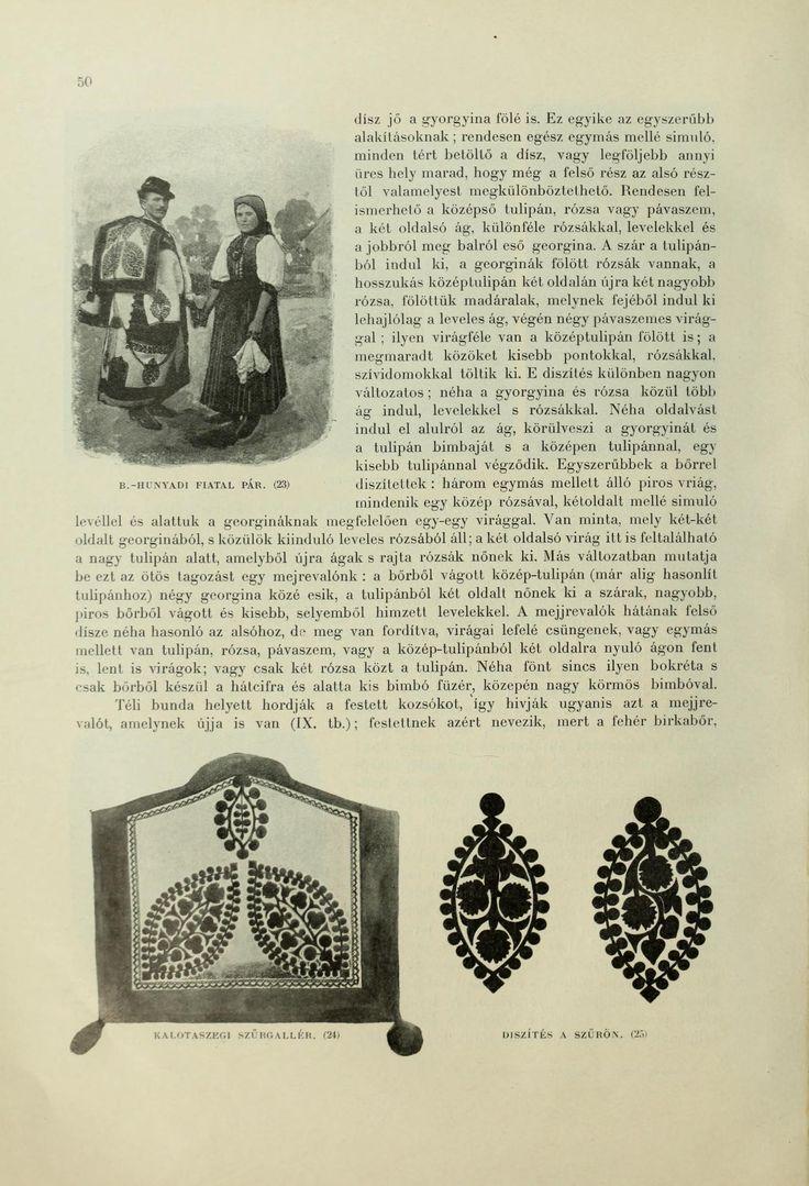 Hungarian folk costumes - A magyar nép mvészete : számos szakért és mvész...