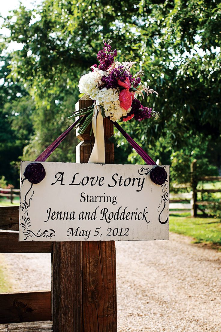 """Love story"" wedding theme"