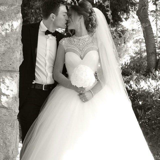 Wedding dress Irida, collection Crystal http://www.oksana-mukha.com/en/dress/crystal_2015/Irida