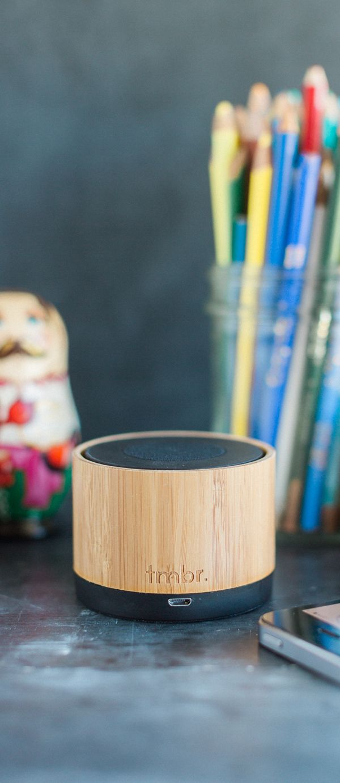 Classy Bamboo Bluetooth Speaker