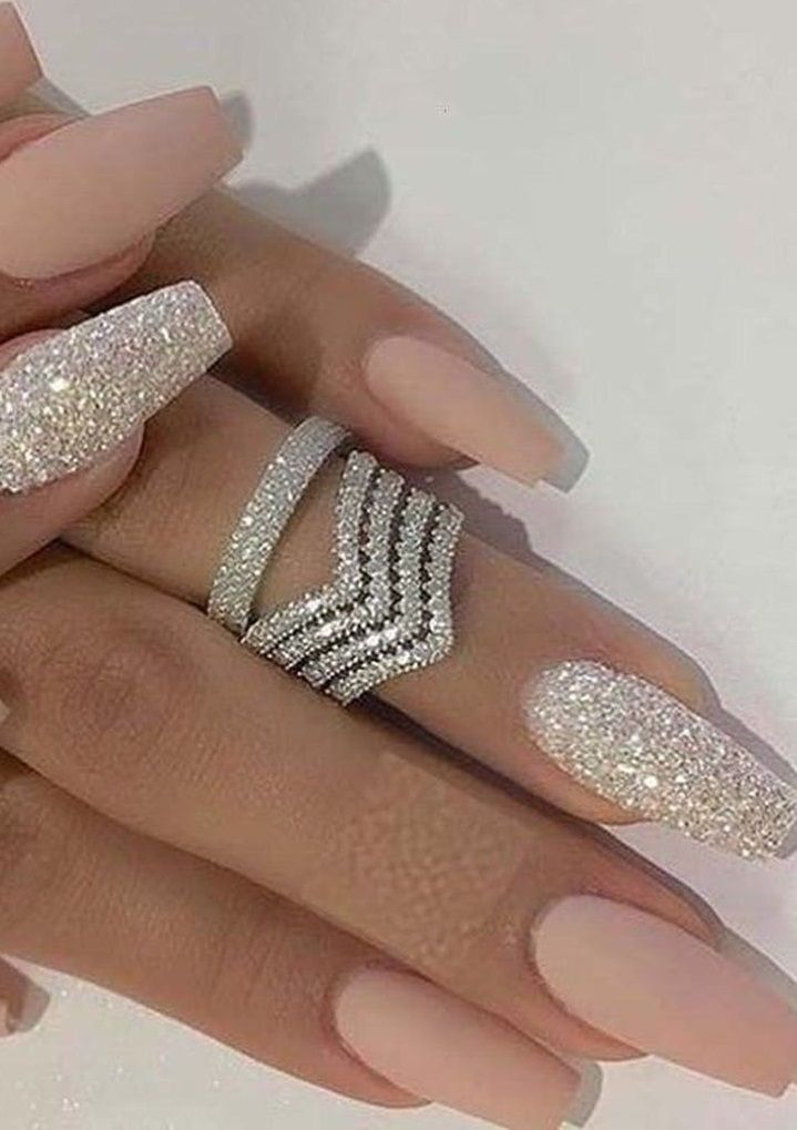 79 Summer Nail Color Designs For Acrylic Glitter Gel Nails In 2020 Glitter Gel Nails Summer Nails Colors Designs Colorful Nail Designs