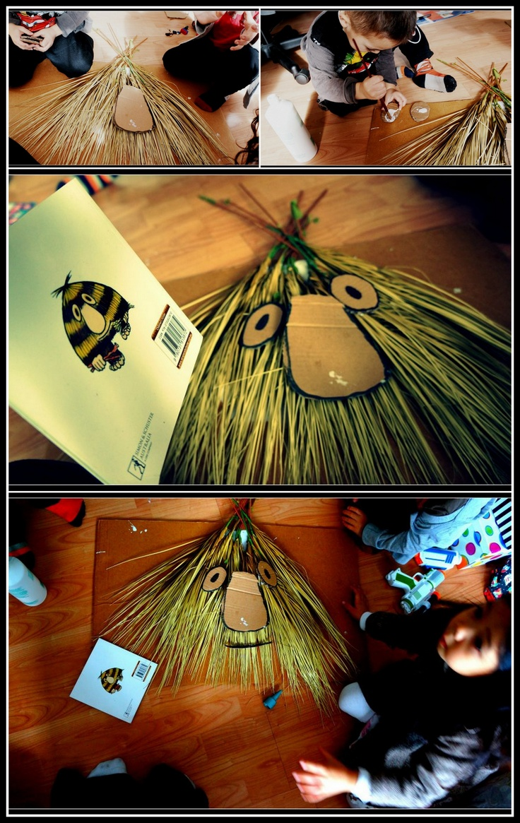 Grug! - make your own  decorations for party or individual craft table activity?