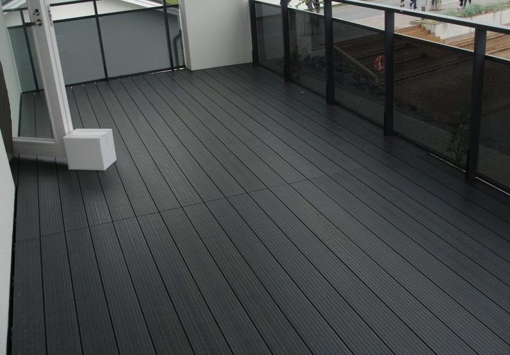 Lunacomp wood composite sustainable all weather non for Sustainable decking