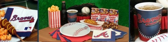 atlanta braves birthday party | ... you are having an mlb birthday party or a pre game cookout birthday
