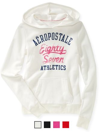 SALE STILL LIVE!!! Aeropostale Hoodies Only $10 + up to 70% OFF!!! - http://couponingforfreebies.com/today-aeropostale-hoodies-10-70/