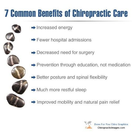 7 Common Benefits of Chiropractic Care http://DrHardick.com