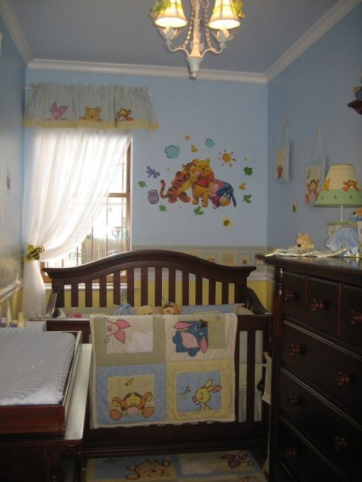 I def want a Winnie the Pooh nursery for my child!