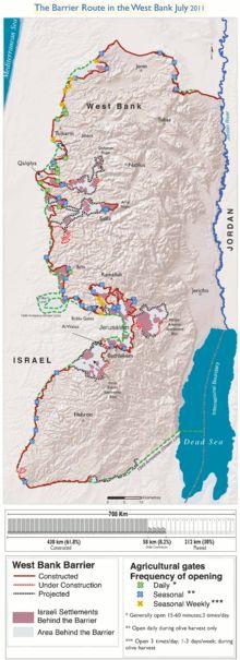 Israel-Palestinian Wall Ich Bin Eine Berliner - Israeli West Bank barrier - Wikipedia