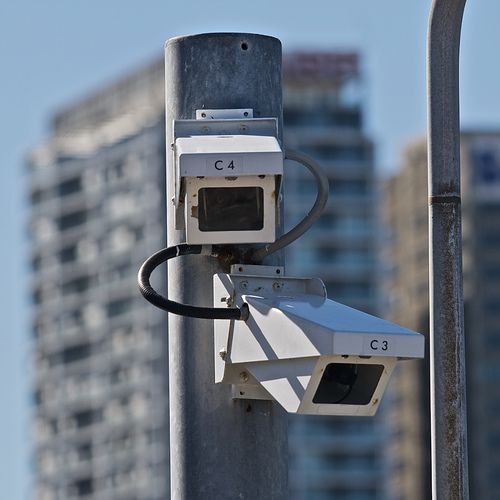 monitored by unmanned surveillance cameras. These surveillance cameras ... See the new technology outside security cameras at hiddenwirelesssec...
