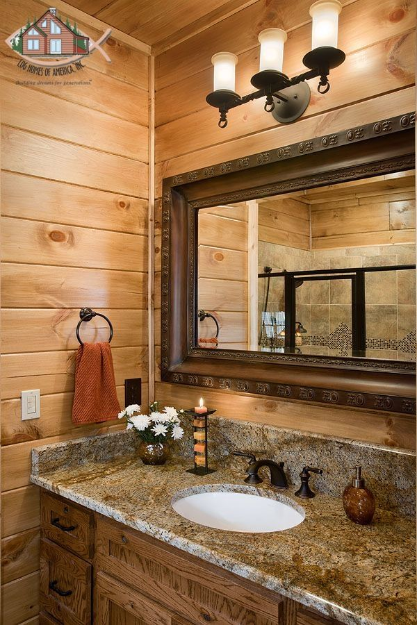Zillow Rustic Bathrooms: Master Bathroom With Granite Counter-top, T&G Walls