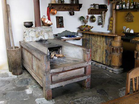 Brazilian wood cook stove