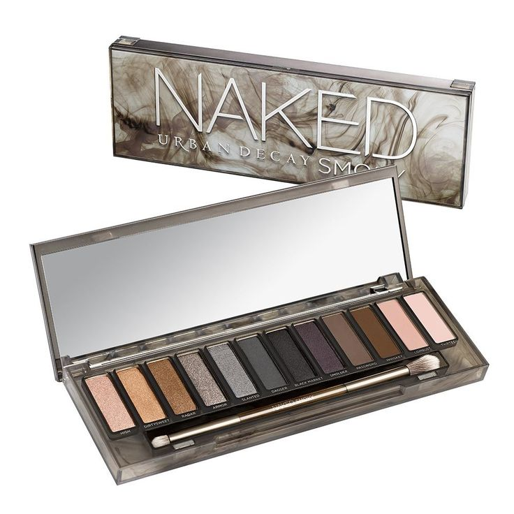 The key to nailing the most sought-after and elusive eye look ever? Naked Smoky—loaded with ALL the essentials you need for the perfect neutral smoky eye. A true range of shades. The perfect brushes. And detailed tutorials. We packed this palette with a dozen sultry, smoky neutrals, including nine never-before-seen shades and three exclusives from past palettes. Experiment with warm bronzes, dimensional grays, rich browns, gorgeous taupes and deep black...