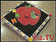 decorated graduation cap for elementary education  #Cap #decorated #Education #Elementary