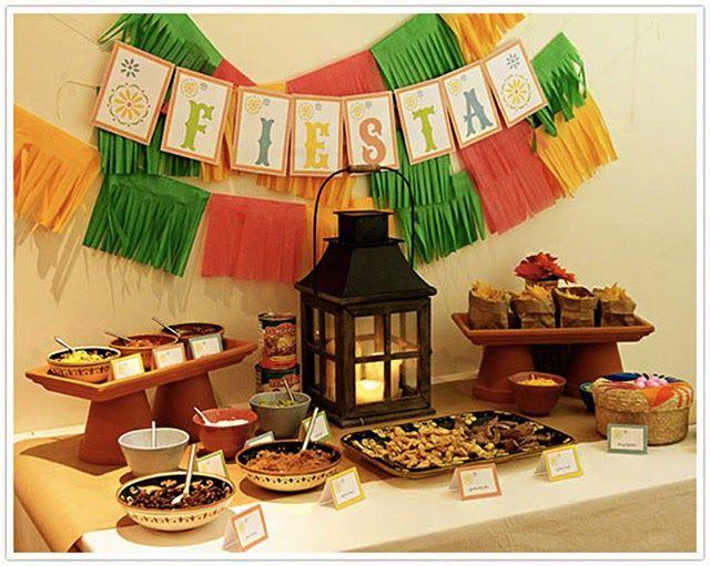 PANELATERAPIA - Blog de Culinária, Gastronomia e Receitas: Decoração: Festa Mexicana