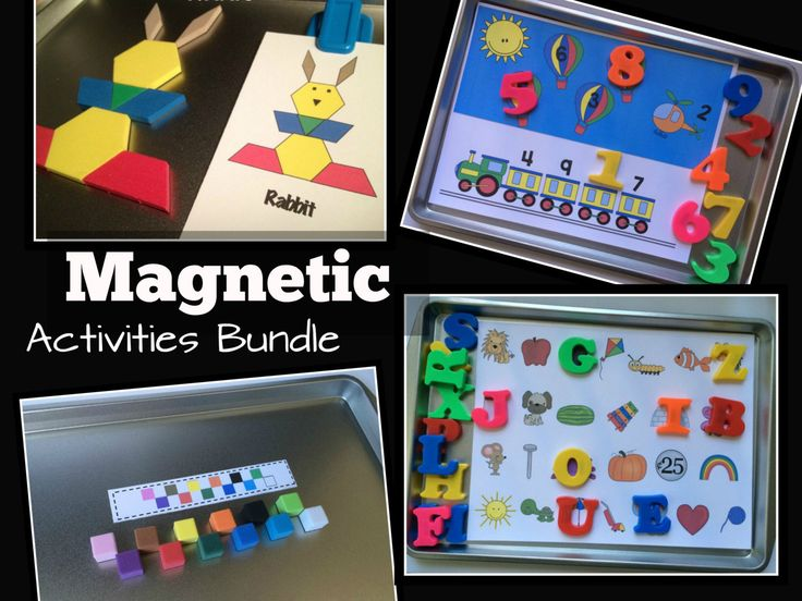 Magnetic Travel Activities Preschool and by KeepingMyKiddoBusy