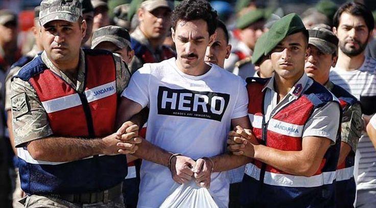 """Savcı açıkladı: Darbeci askere 'Hero ' tişörtü böyle gelmiş  """"Savcı açıkladı: Darbeci askere 'Hero ' tişörtü böyle gelmiş"""" http://fmedya.com/savci-acikladi-darbeci-askere-hero--tisortu-boyle-gelmis-h56528.html"""