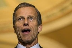 Senator trying to steal Health Care from 6 Million Americans, shoots himself in the foot; figuratively anyway.   #ObamaCare #US #usPoli   Sen. John Thune (R-SD) probably wishes that he'd thought twice before debuting a new attack on the Affordable Care Act on Twitter.