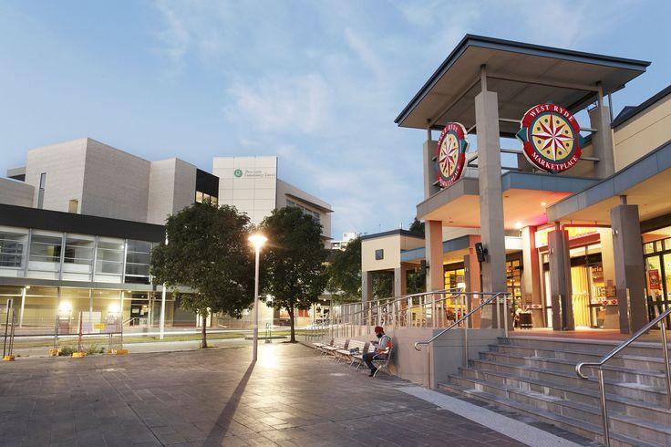 West Ryde Marketplace in Anthony Road, West Ryde, NSW. #WestRyde #RydeLocal #CityofRyde #Dusk #Sunset