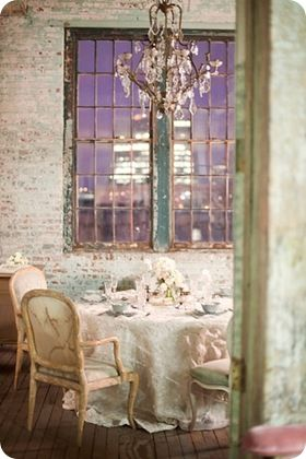 brickExposed Bricks, Dining Room, Dreams, Bedrooms Design, Bricks Wall, Shabby Chic, Interiors, Dinner Parties, Expo Bricks