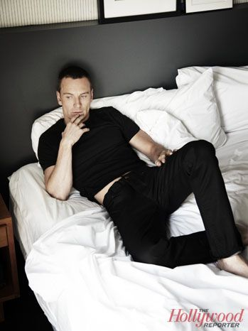 Amazing!  Outtakes from Michael Fassbender's THR Cover Shoot