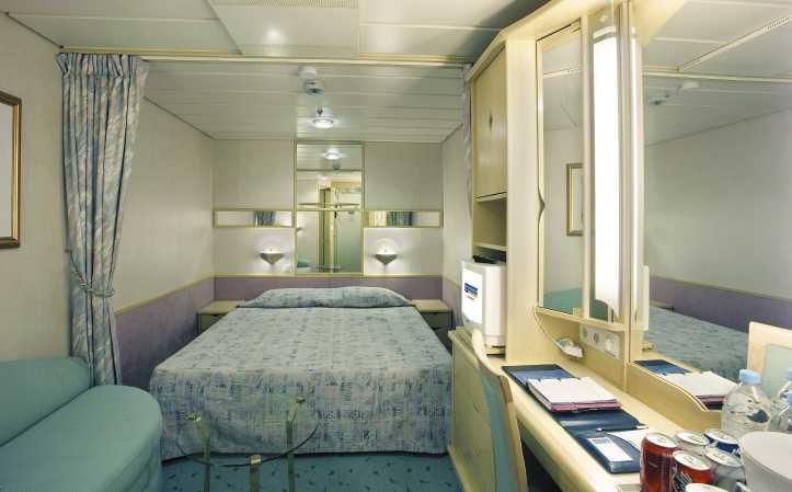 Inside Cabin On The Enchantment Of The Seas Cabin Life Pinterest Cruises And Royal Caribbean