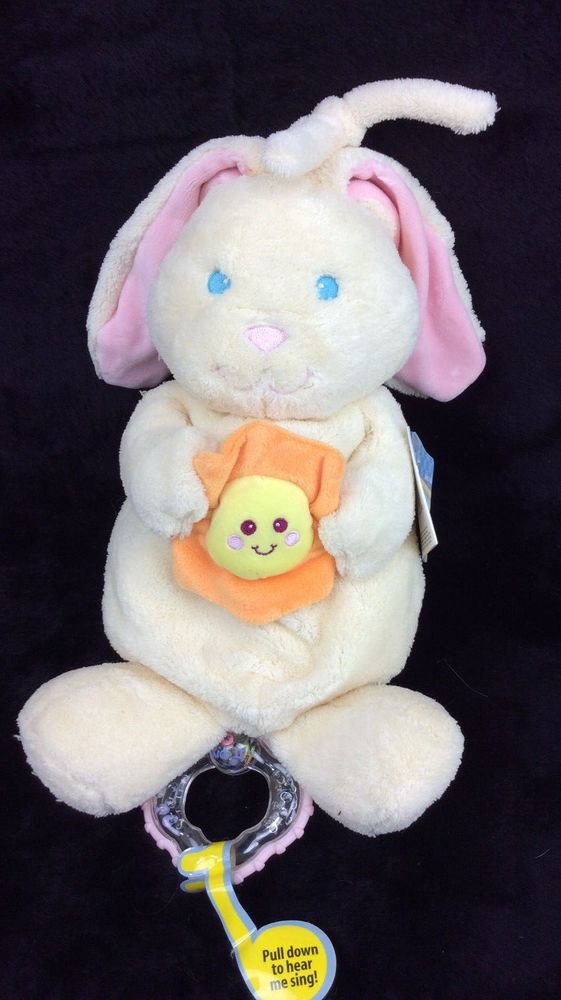 Kids Ii You Are My Sunshine Bunny Rabbit Musical Pull Baby Plush New