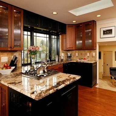 Exotic Granite Countertops Kitchen Design Ideas Pictures