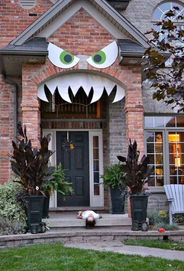 42 Super Smart Last Minute DIY Halloween-Dekorationen, Homesthetics-Dekor-Ideen (15)