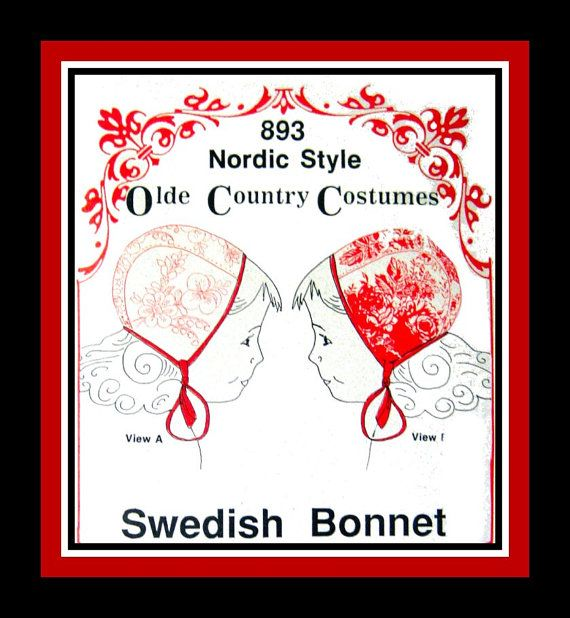 Swedish Bonnet - grading up and down? sewing discussion topic ...
