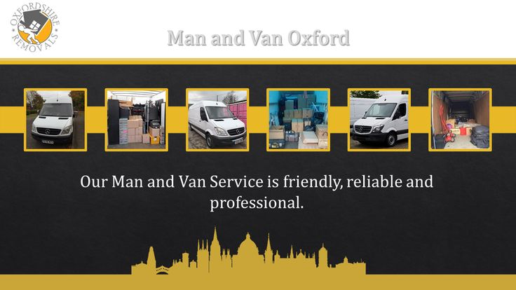 The Best Man and Van in Oxford