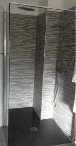 doccia moderna filo pavimento