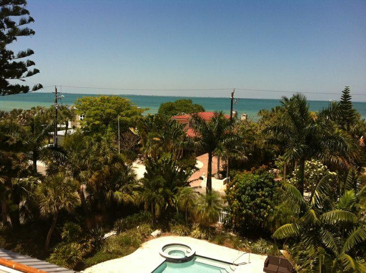 The view from Cherryfish, Anna Maria Island Florida #AMI