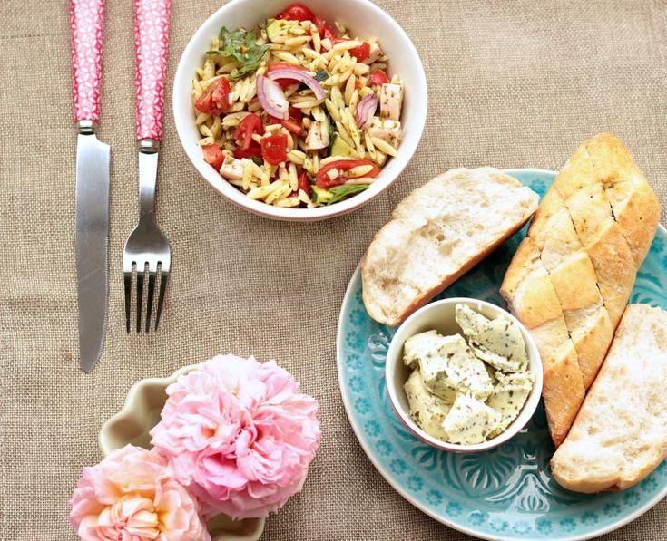 Kritharaki / Orzo Salat | SASIBELLA