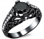 gothic engagement ring - Google Search