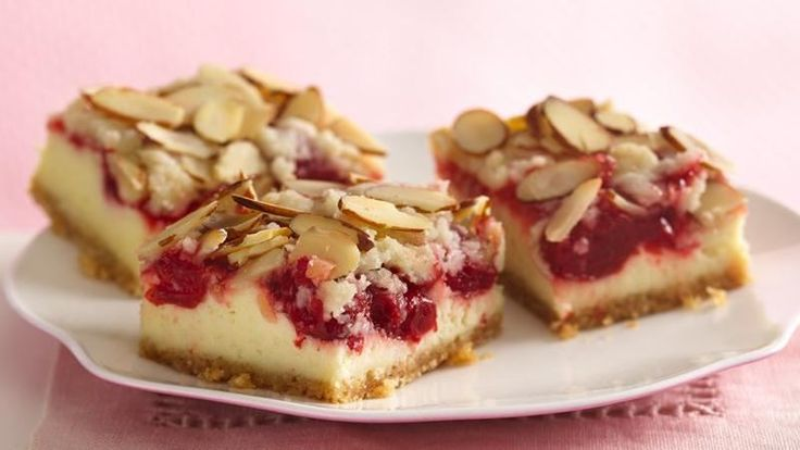 Prize-Winning Recipe 2008! Sugar cookie mix makes the base of a creamy cheesecake bar with a baked-in cherry filling.