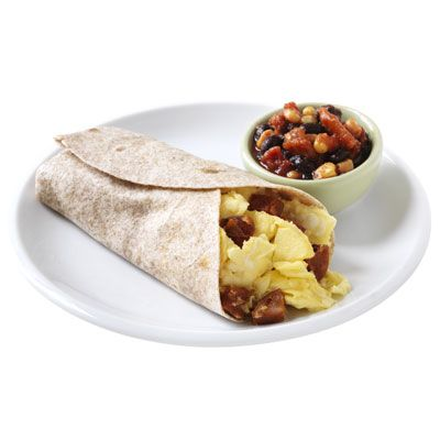 Egg And Chorizo Burritos Recipe — Dishmaps