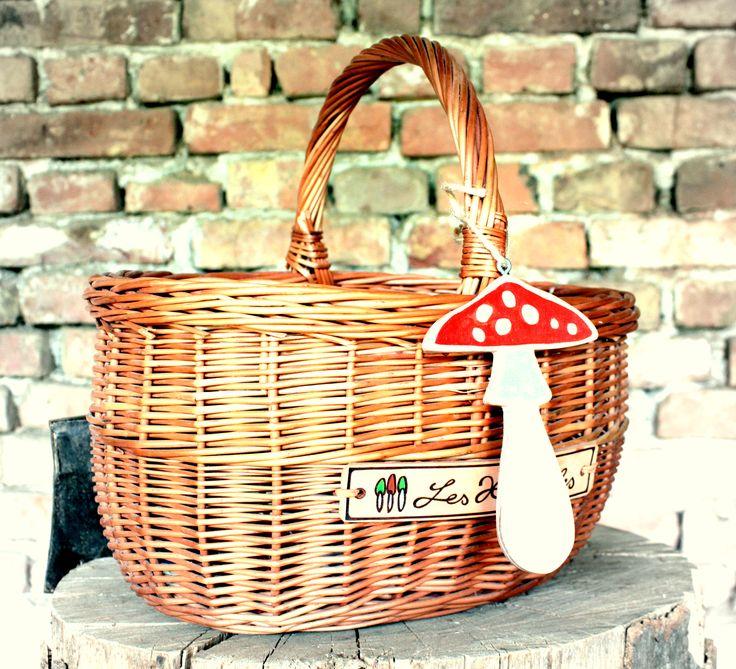 Značkový košík od Les Houbeles.