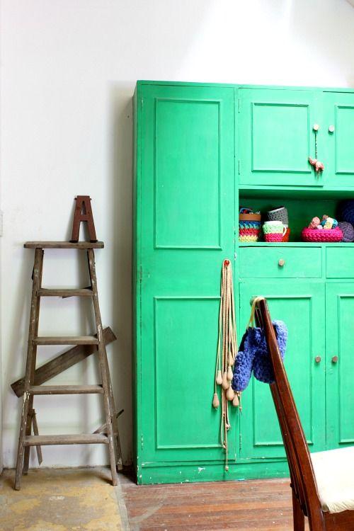 vert menthe bleu vert belle couleur meubles peints plaisir travaux yeux couleurs salle